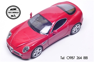 ALFA ROMEO 8C (ĐỎ) 1:24 WELLY