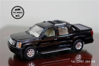CADILLAC ESCALADE EXT (ĐEN) 1:24 WELLY