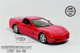 CHEVROLET CORVETTE 1999 (ĐỎ) WELLY