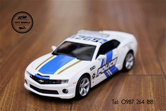 CHEVROLET CAMARO RS 2010 POLICE (TRẮNG) 1:24 MAISTO
