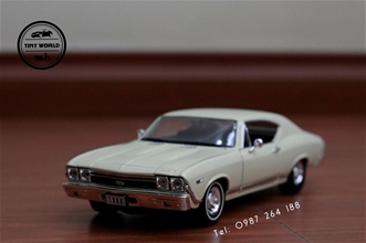 CHEVROLET CHEVELLE SS 396  (TRẮNG SỮA) WELLY