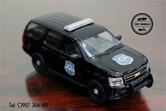 CHEVROLET TAHOE POLICE (ĐEN) WELLY