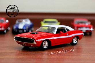 DODGE 1970 COUPE (ĐỎ) 1:24 MAISTO