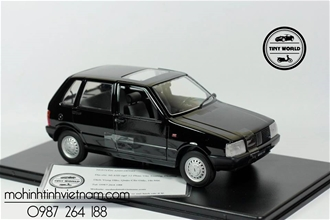 FIAT UNO 55S 1983 (ĐEN) 1:24 WHITEBOX