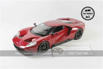 FORD GT 2017 (ĐỎ) 1:24 WELLY
