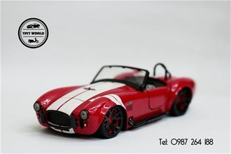 SHELBY COBRA 427 1965 (ĐỎ) 1:24 JADA