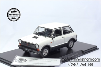 AUTOBIANCHI A112 ABATE 1979 (TRẮNG) 1:24 WHITEBOX