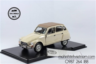 CITROEN DYANE 6 (TRẮNG) 1:24 WHITEBOX