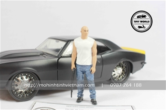 FIGURE DOM (XANH) 1:24 DIECAST MODEL