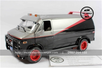GMC VANDURA 1983 (ĐEN) 1:24 GREENLIGHT