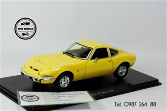 OPEL GT 1990 (VÀNG) 1:24 WHITEBOX