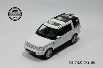 LAND ROVER DISCOVERY 4 (TRẮNG) 1:24 WELLY