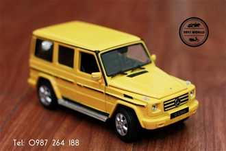 MERCEDES-BENZ G500 (VÀNG) 1:24 WELLY FX
