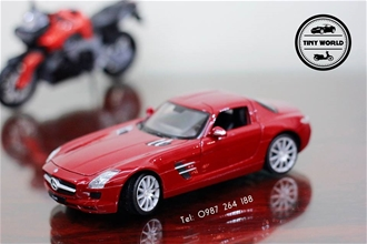 MERCEDES-BENZ SLS AMG (ĐỎ) 1:24 WELLY