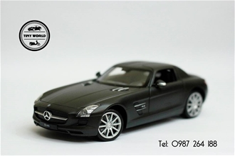 MERCEDES-BENZ SLS AMG (ĐEN) 1:24 WELLY