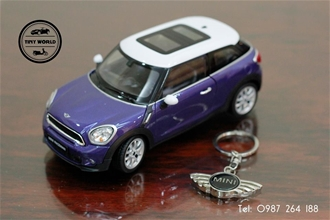 MINI COOPER S PACEMAN (XANH) 1:24 WELLY