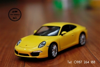 PORSCHE 911 CARRERA S (VÀNG) 1:24 WELLY