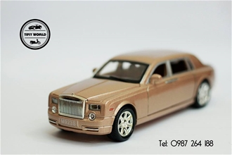 ROLLS ROYCE (GOLD) 1:24 DIE-CAST
