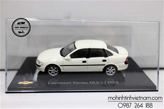 [PRE-ORDER] CHEVROLET VECTRA GLS2.2 1998 (TRẮNG) 1:43 CCOOL MODEL