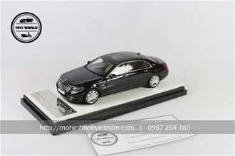 MERCEDES S600 MAYBACH 2016 (ĐEN) 1:43 ALMOST REAL