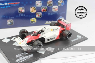 MCLAREN RACING F1 MP4  2C (TRẮNG) 1:43 SOLIDO