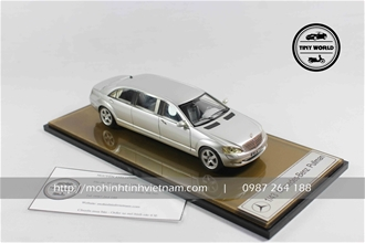 MERCEDES-BENZ PULLMAN (BẠC) 1:43 DEALER
