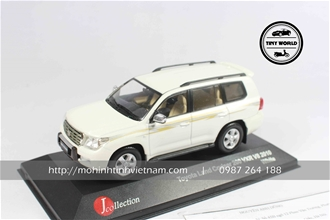 TOYOTA LAND CRUISER 2011 (TRẮNG) 1:43 J-COLLECTION