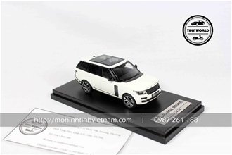 LAND ROVER RANGE ROVER (TRẮNG) 1:64 LCD