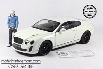 BENTLEY CONTINENTAL SUPERSPORTS (TRẮNG) 1:18 WELLY