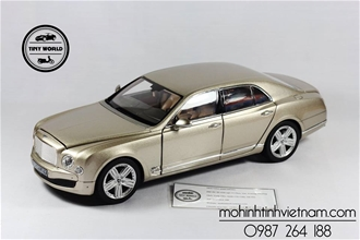BENTLEY MULSANNE (GOLD) 1:18 RASTAR