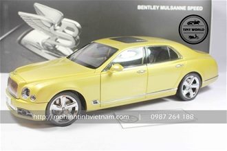 BENTLEY MULSANNE SPEED (VÀNG) 1:18 ALMOST REAL