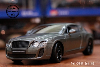 BENTLEY SUPERSPORTS (NÂU) 1:18 WELLY