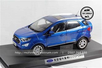 FORD ECOSPORT 2018 (XANH) 1:18 DEALER
