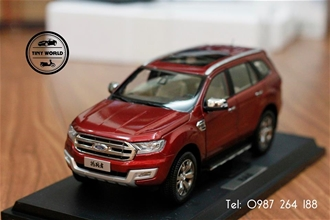 FORD EVEREST 2016 (ĐỎ) 1:18 PAUDI