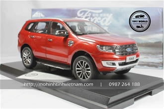 FORD EVEREST 2019 (ĐỎ) 1:18 PAUDI