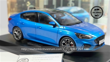 FORD FOCUS 2020 (XANH) 1:18 DEALER