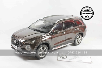 HYUNDAI SANTAFE 2019 (NÂU) 1:18 DEALER