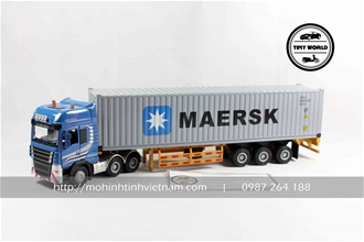 CONTAINER MAERSK (XANH) 1:50 JINGBANG