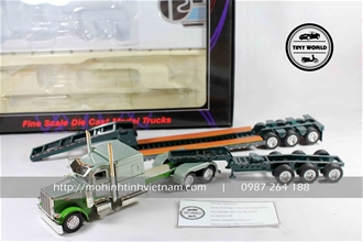 PETERBILT TRAILER 389 (XANH) 1:53 TONKIN REPLICAS