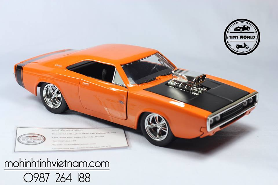 DODGE CHARGER RT 1970 (CAM) 1:24 JADA